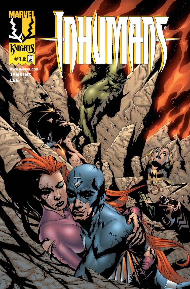 Inhumans (1998) #12
