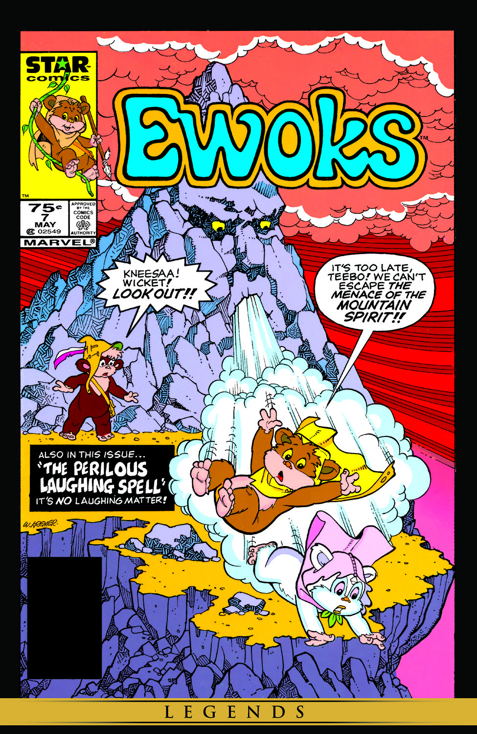 Star Wars: Ewoks (1985) #7