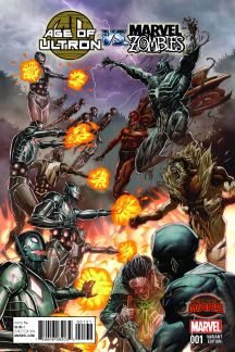 Age of Ultron Vs. Zombies (2015) #1 (Kim Variant)