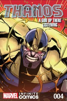Thanos: A God Up There Listening Infinite Comic #4