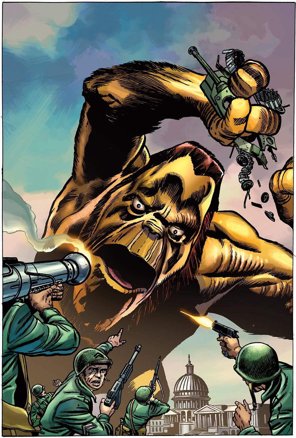 All-New X-Men (2015) #1 (Jack Kirby Monster Variant)
