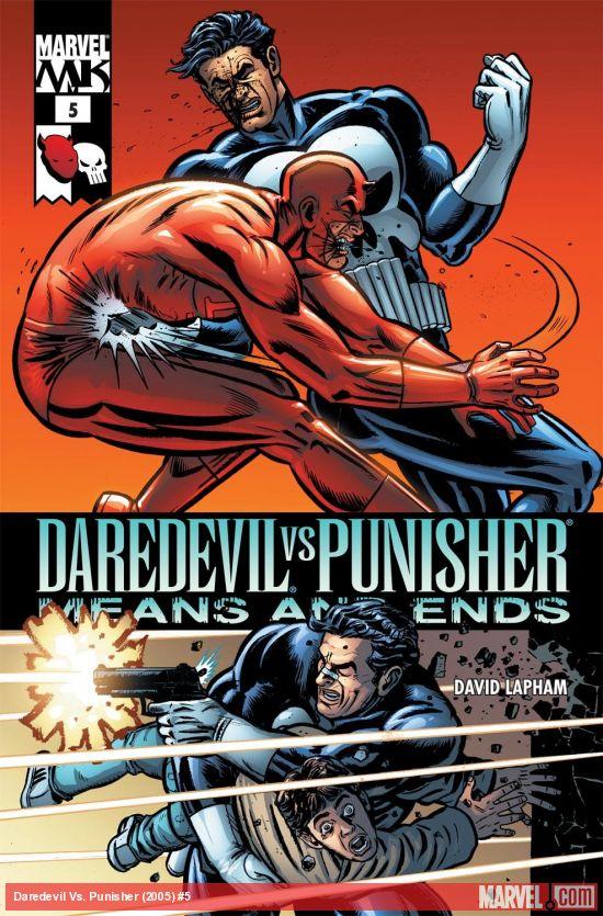 Daredevil Vs. Punisher (2005) #5