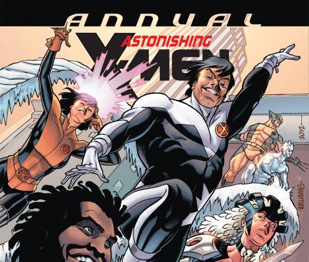 ASTONISHING X-MEN ANNUAL (2012) #1 Cover
