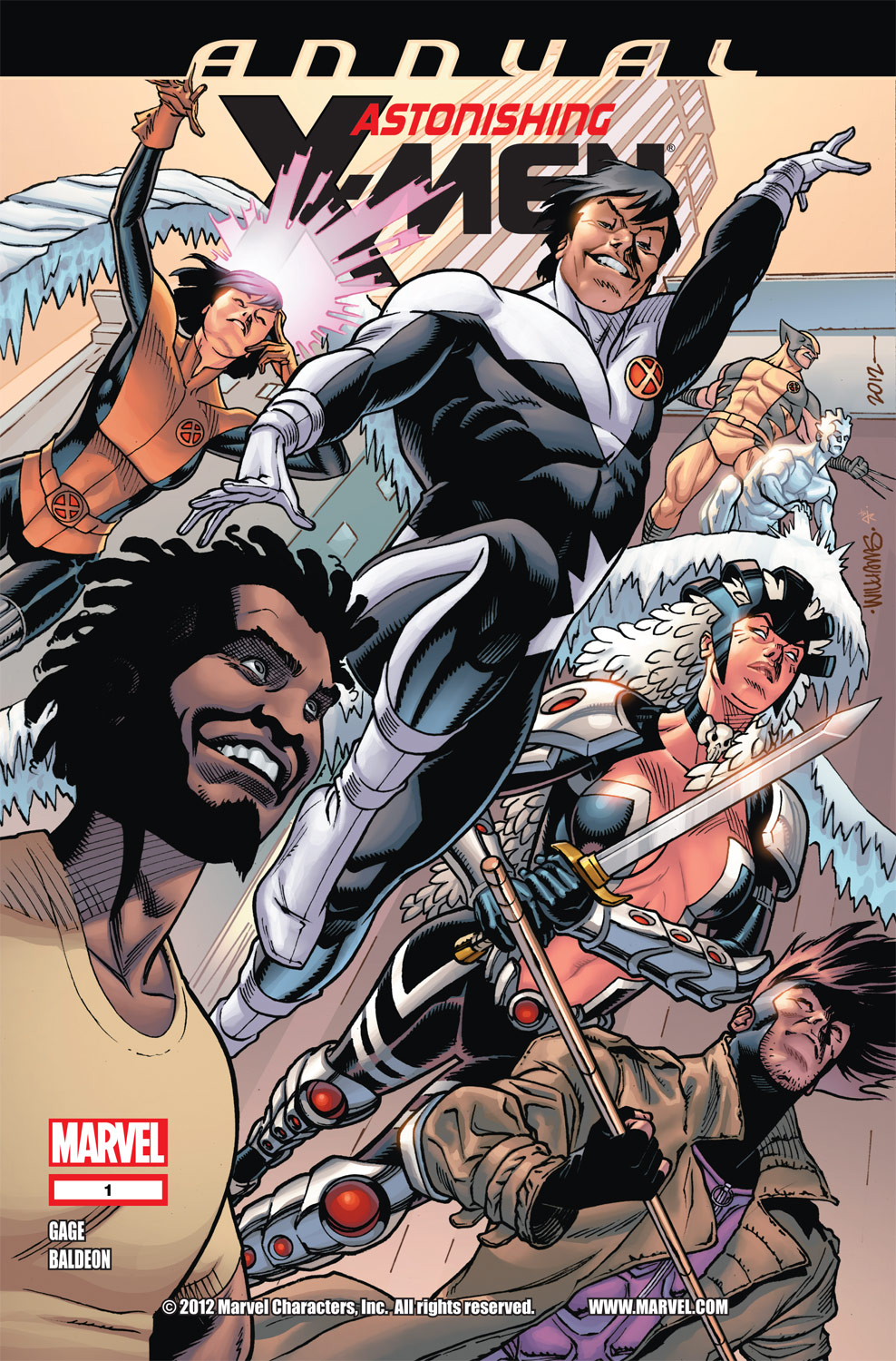 Astonishing X-Men Annual (2012) #1