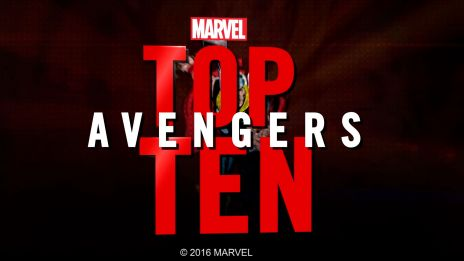 Marvel Top 10 Avengers