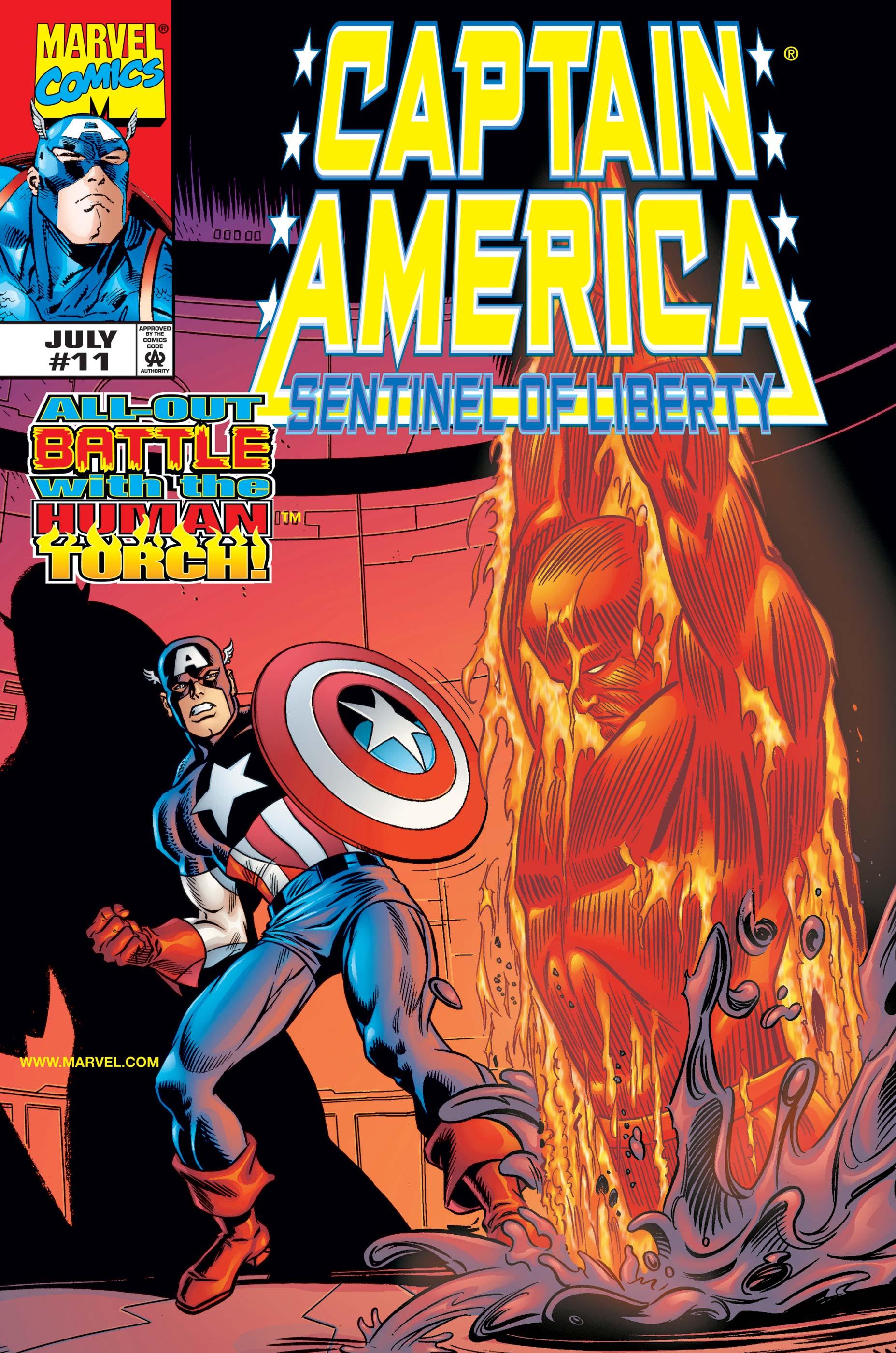 Captain America: Sentinel of Liberty (1998) #11