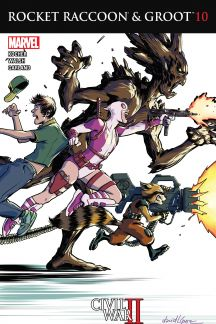 Rocket Raccoon & Groot #10