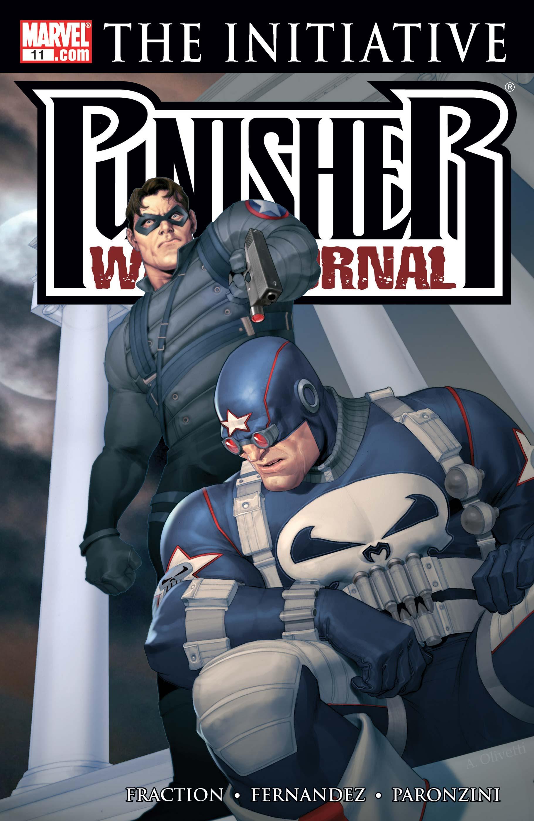 Punisher War Journal (2006) #11