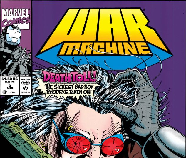 War Machine (1994) #5