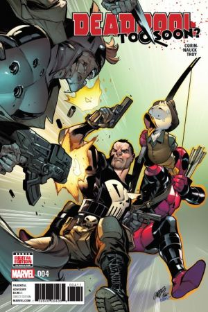 Deadpool: Too Soon #4