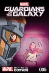 cover to GUARDIANS OF THE GALAXY: AWESOME MIX INFINITE COMIC (2016) #5