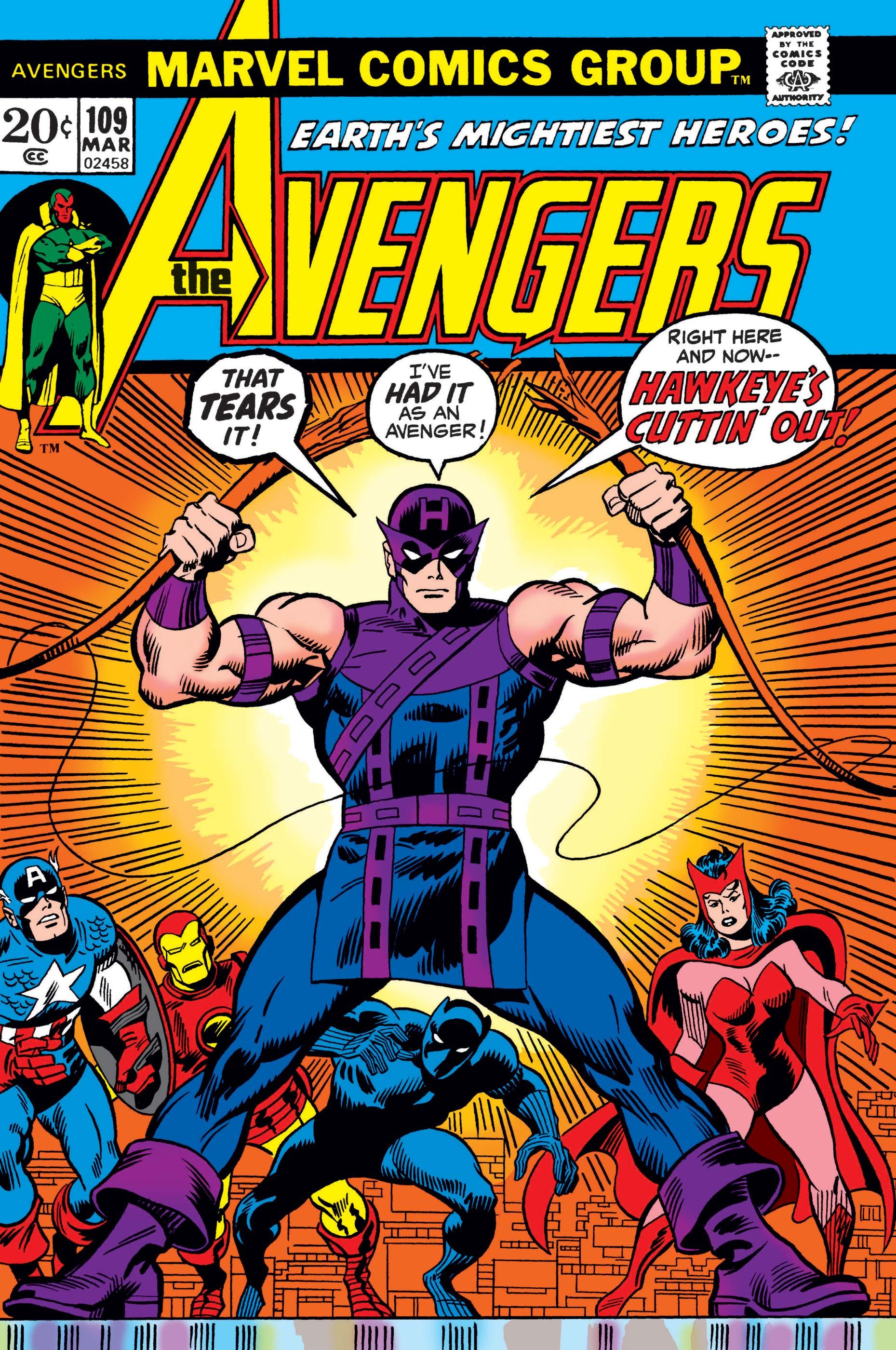 Avengers (1963) #109