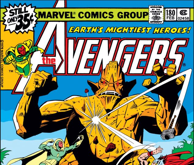 Avengers (1963) #180