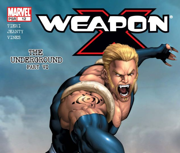 WEAPON X (2002) #12