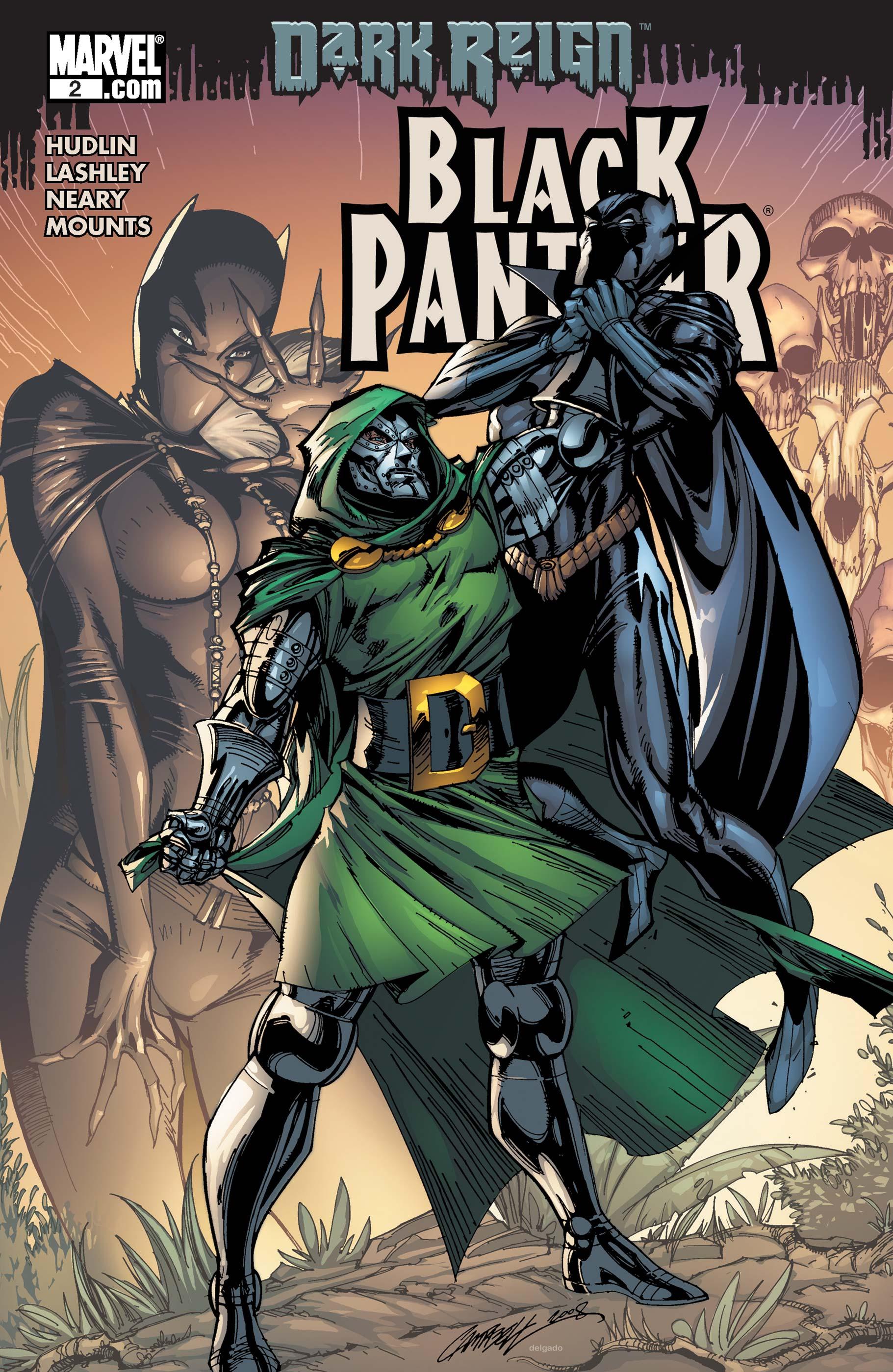 Black Panther (2009) #2