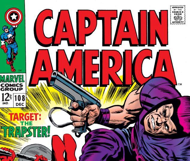 Captain America (1968) #108