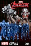 cover from Marvel Universe Avengers: Ultron Revolution (Digital Comic) (2017) #4