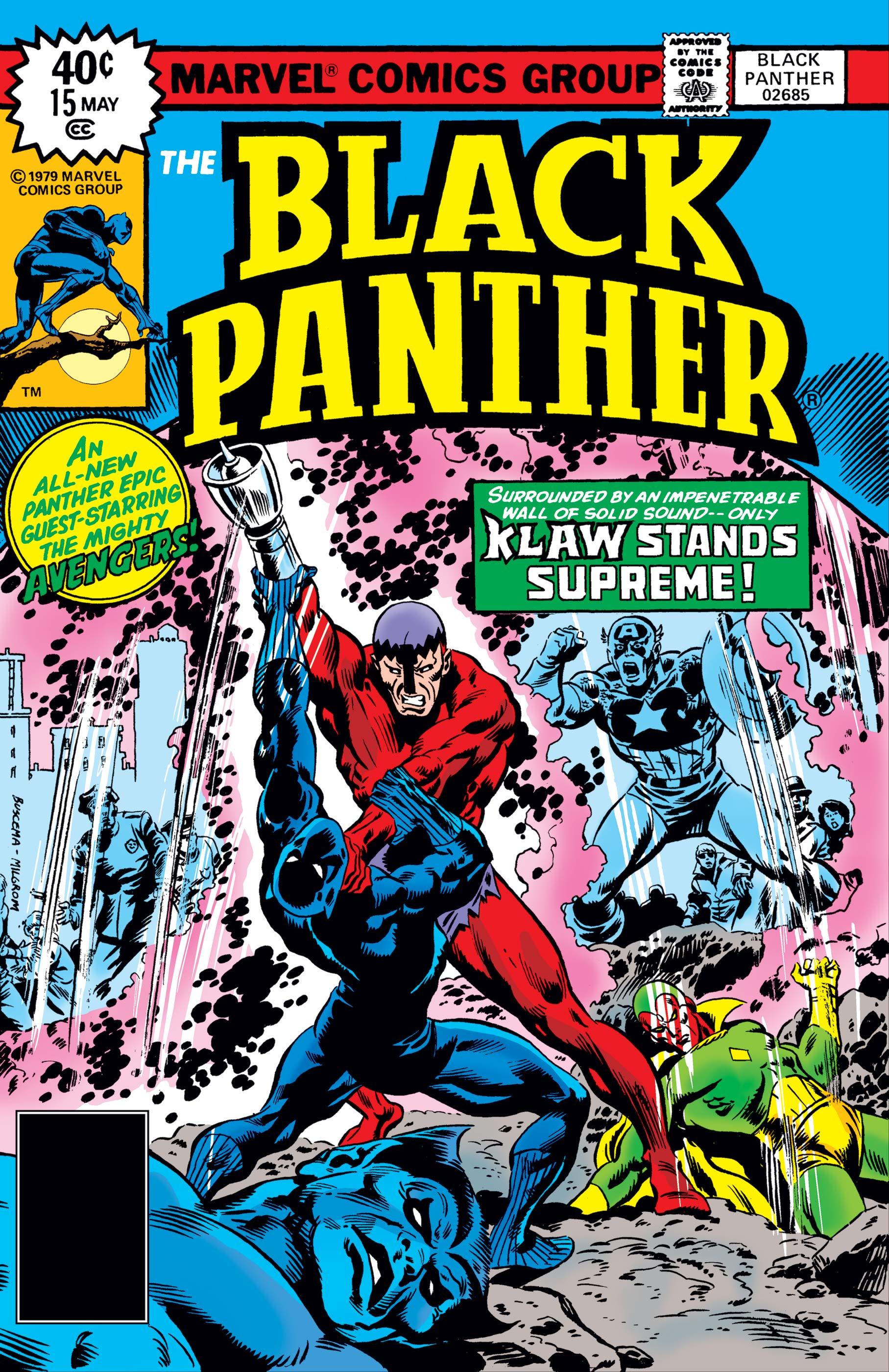 Black Panther (1977) #15