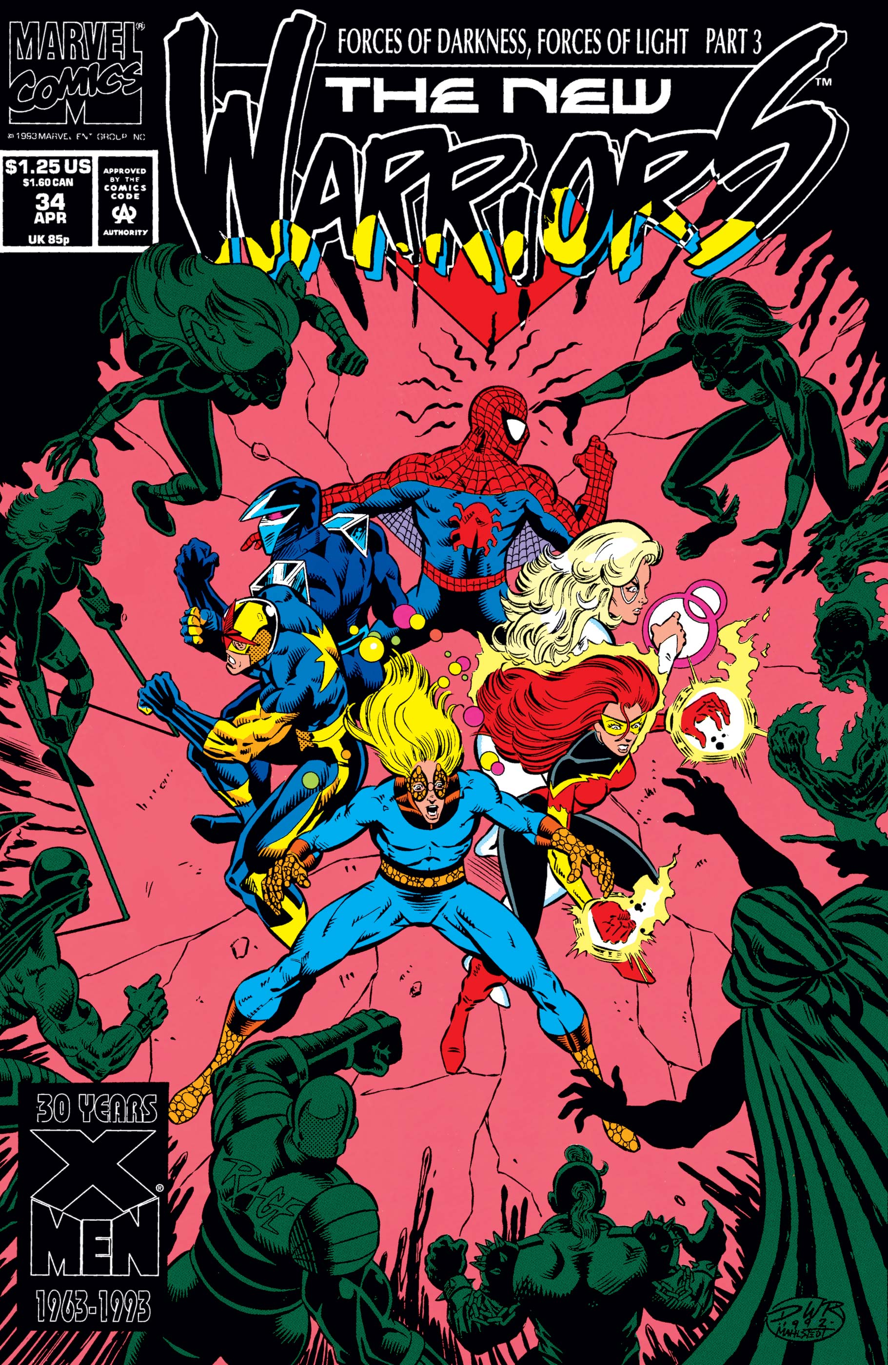 New Warriors (1990) #34