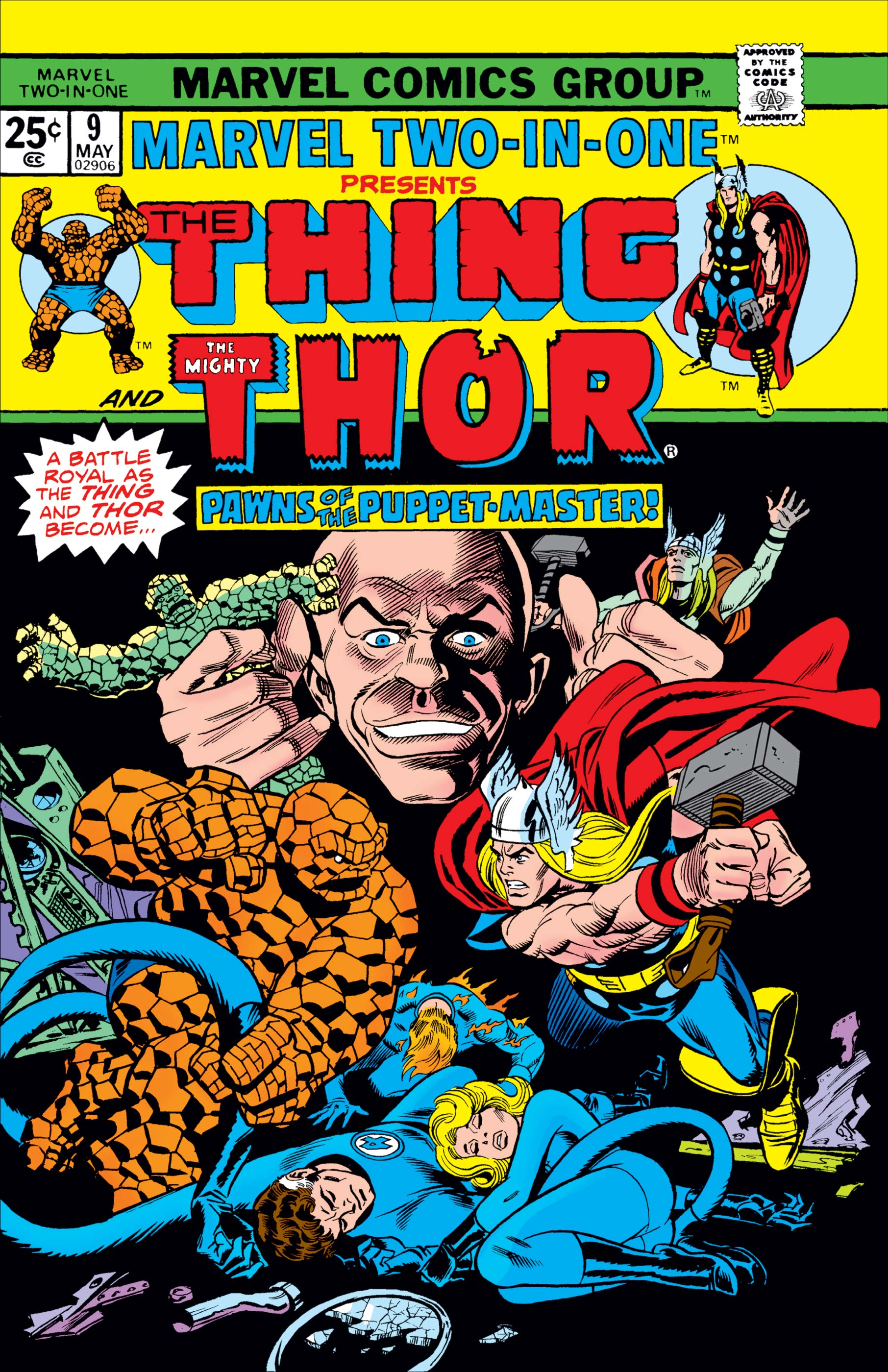 Marvel Two-in-One (1974) #9