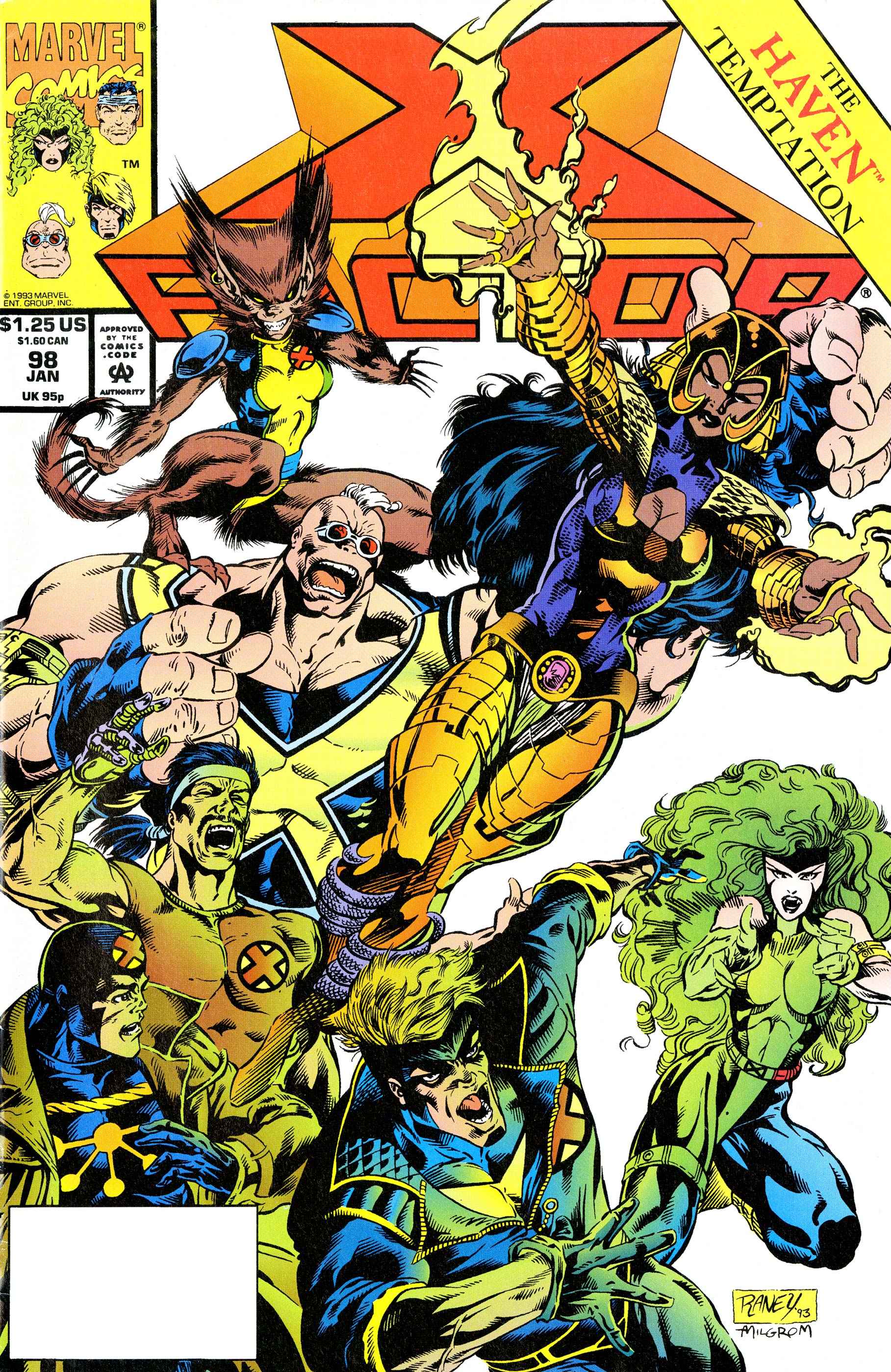 X-Factor (1986) #98