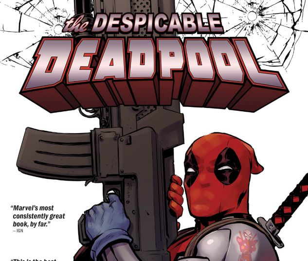 cover from DESPICABLE DEADPOOL HC (2019) #1