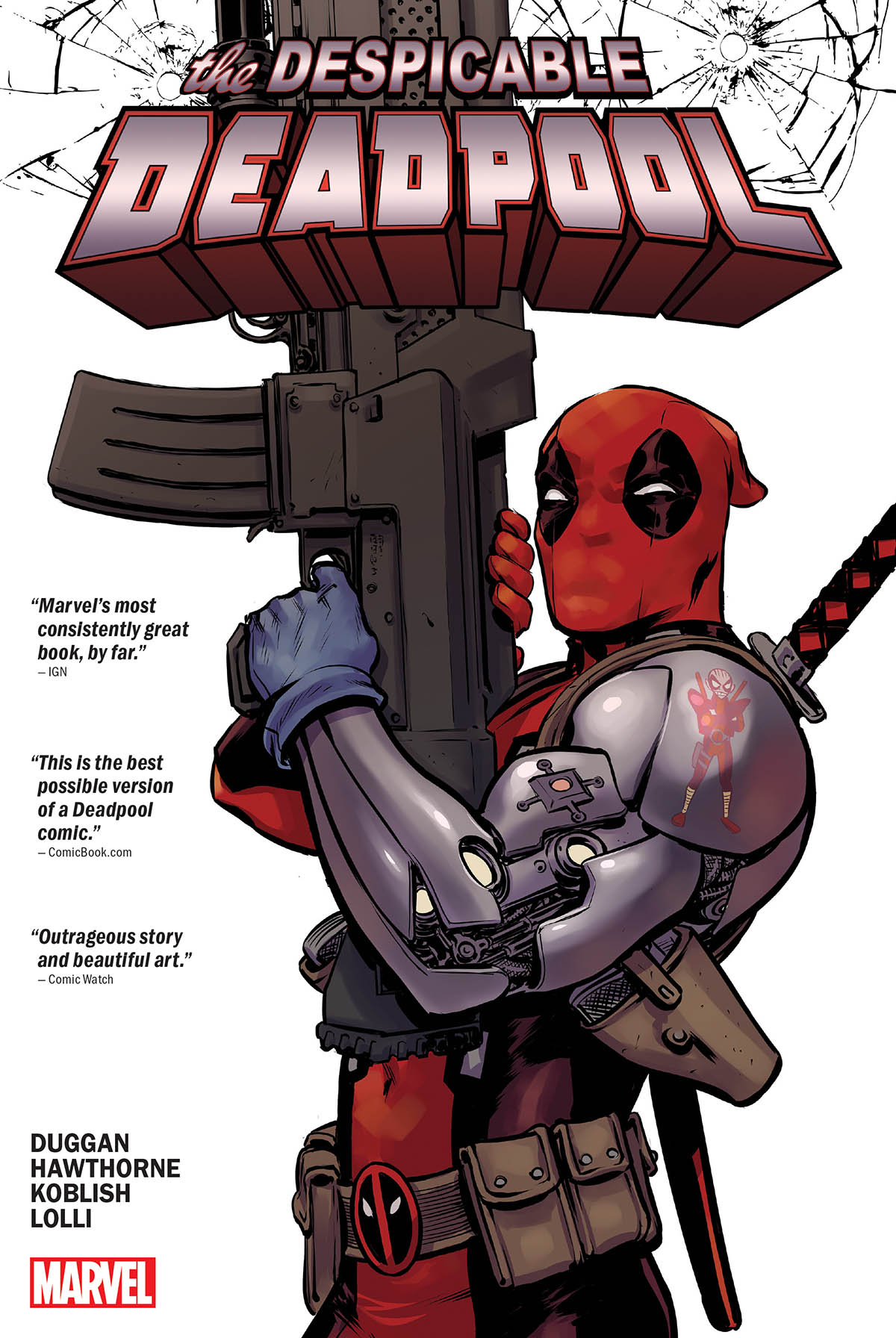 Despicable Deadpool (Hardcover)