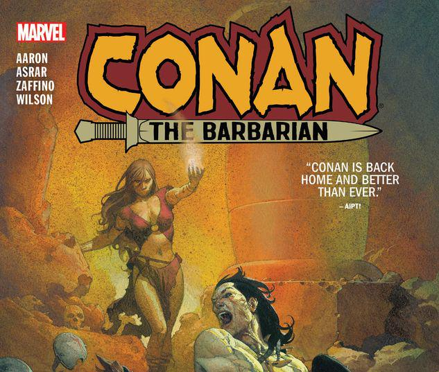 CONAN THE BARBARIAN VOL. 1: THE LIFE AND DEATH OF CONAN BOOK ONE TPB #1