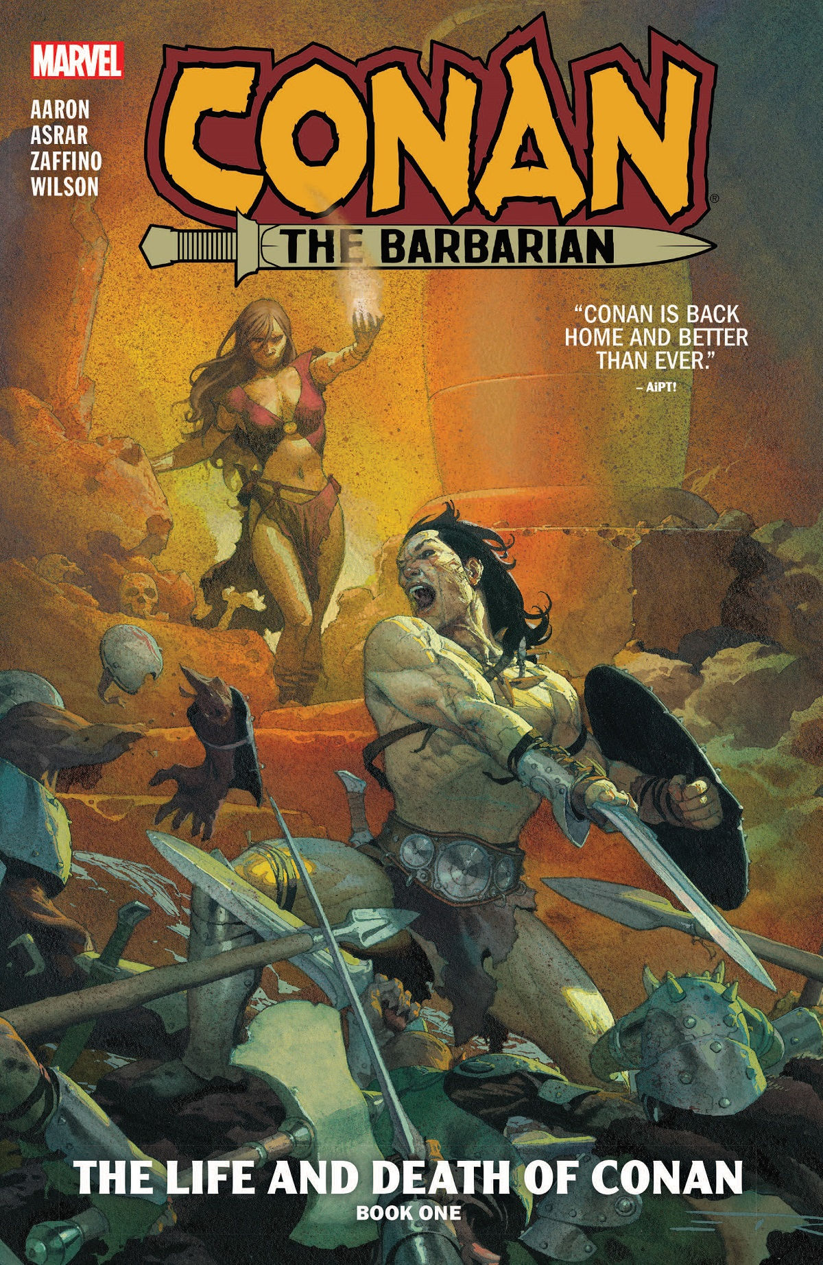 Conan The Barbarian Vol. 1: The Life And Death Of Conan Book One (Trade Paperback)