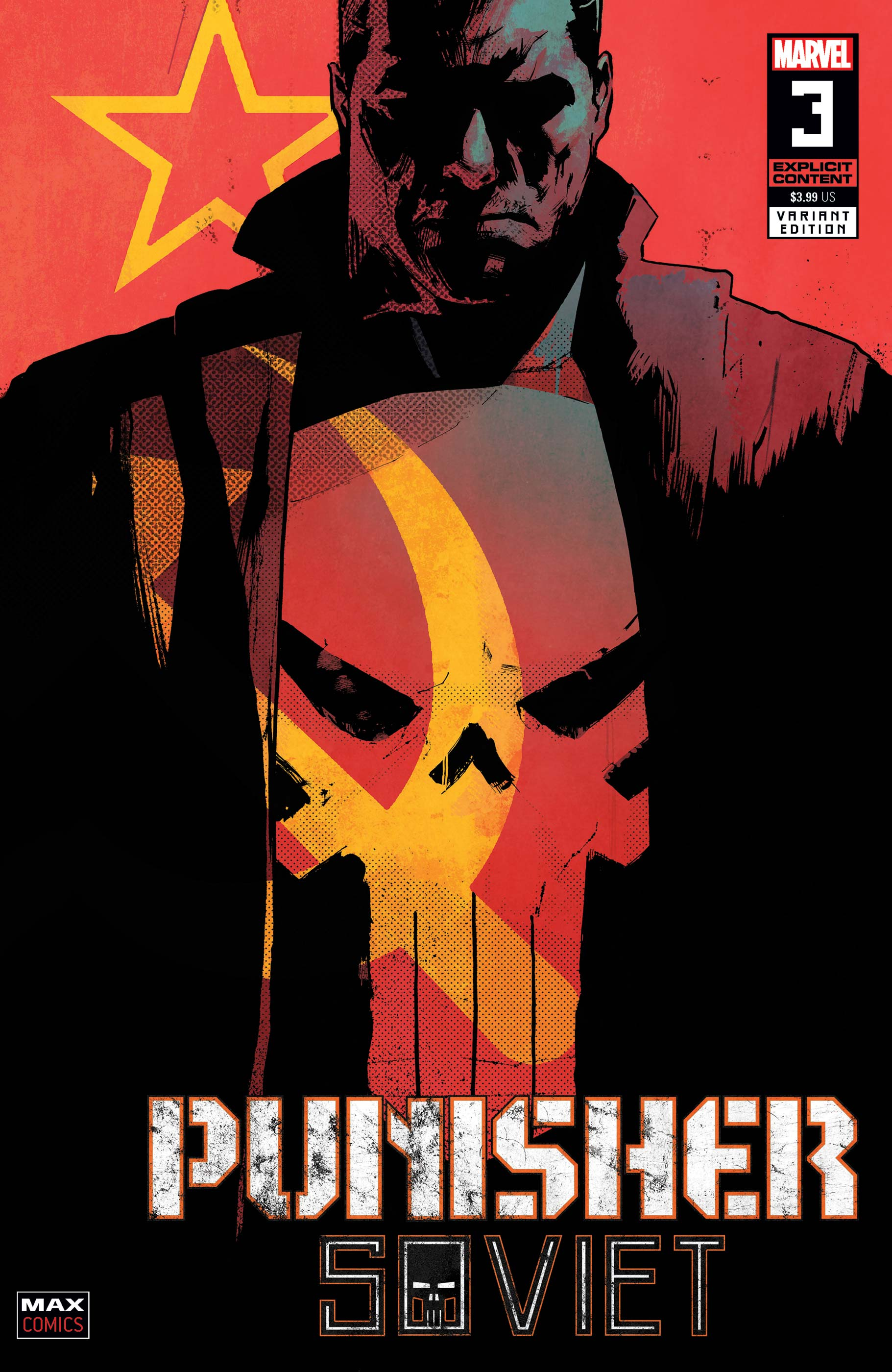 Punisher: Soviet (2019) #3 (Variant)
