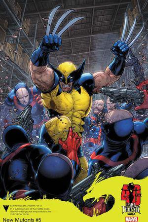 New Mutants (2019) #5 (Variant)
