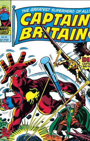 Captain Britain (1976) #29