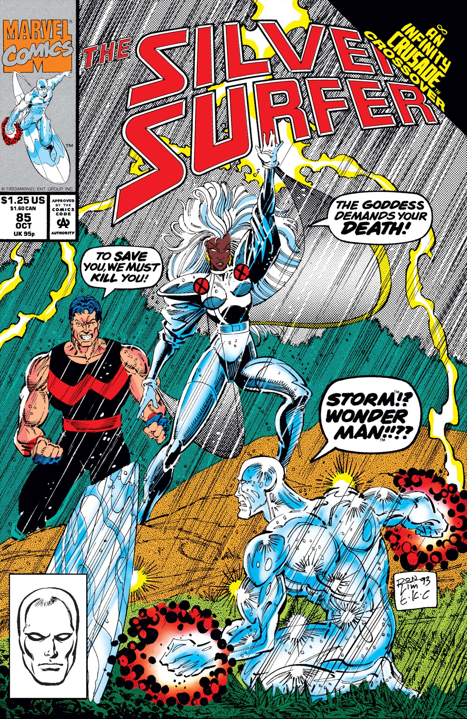 Silver Surfer (1987) #85