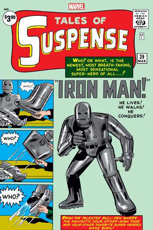 Tales of Suspense Facsimile Edition #39