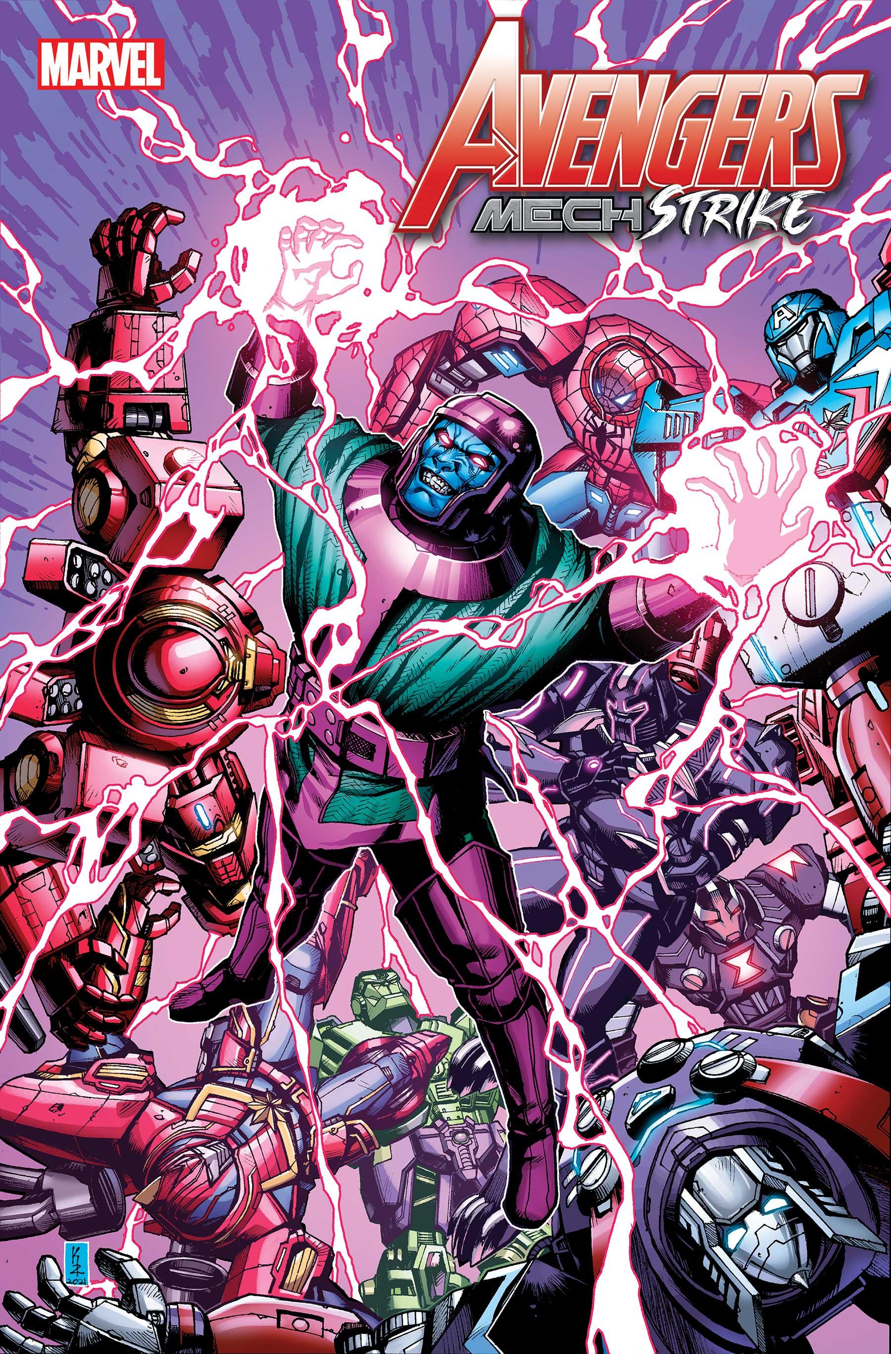 Avengers Mech Strike (2021) #5