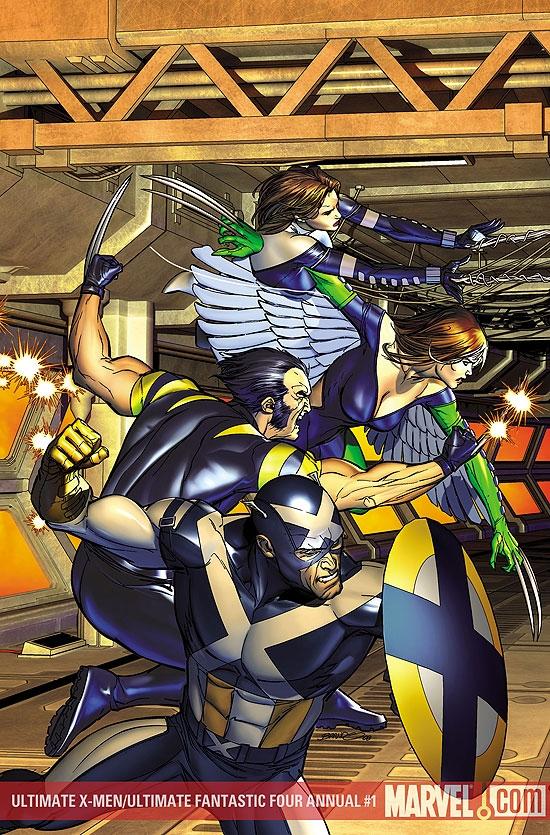 Ultimate X-Men/Ultimate Fantastic Four Annual (2008) #1