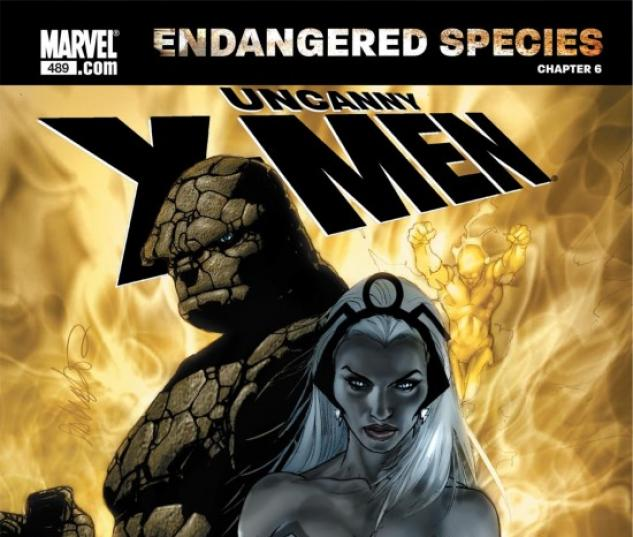 X-MEN: ENDANGERED SPECIES BACK-UP STORY #6