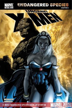 X-Men: Endangered Species Back-Up Story (2007) #6
