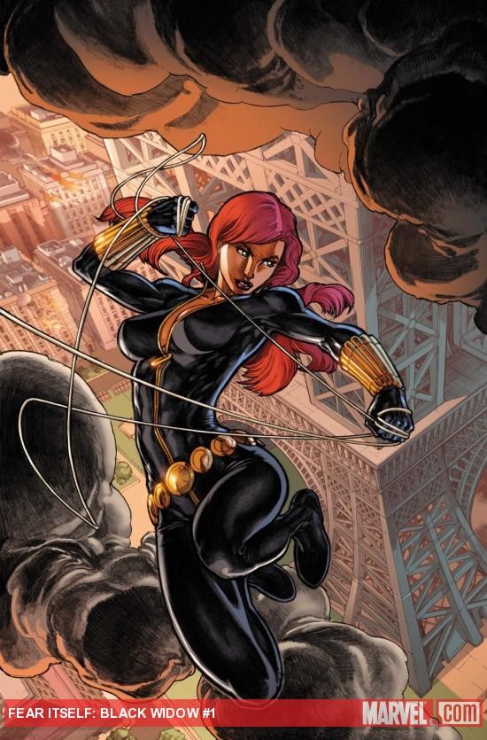 Fear Itself: Black Widow #1 cover