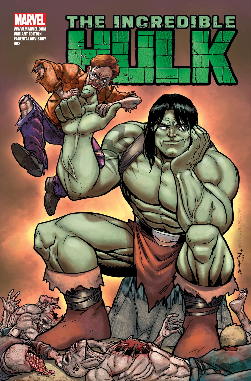 Incredible Hulks (2009) #603 (ZOMBIE VARIANT)