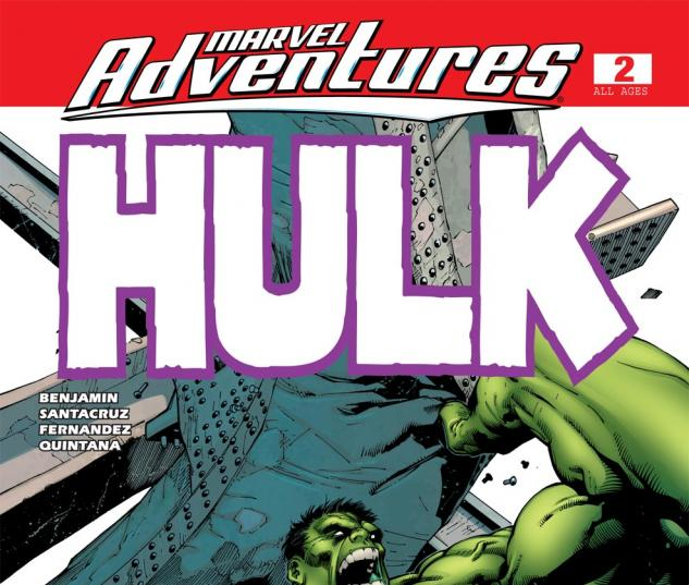 Marvel Adventures Hulk (2007) #2