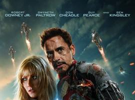 Gwyneth Paltrow and Robert Downey, Jr. star as Pepper Potts and Tony Stark/Iron Man in Marvel's Iron Man 3