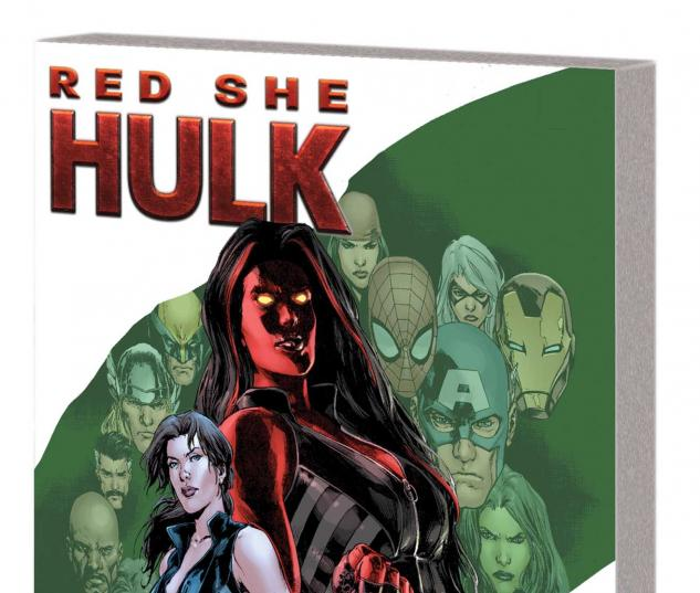 RED SHE-HULK VOL. 1: HELL HATH NO FURY TPB (MARVEL NOW)