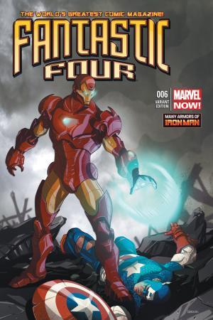 Fantastic Four #6  (Kerschl Iron Man Many Armors Variant)