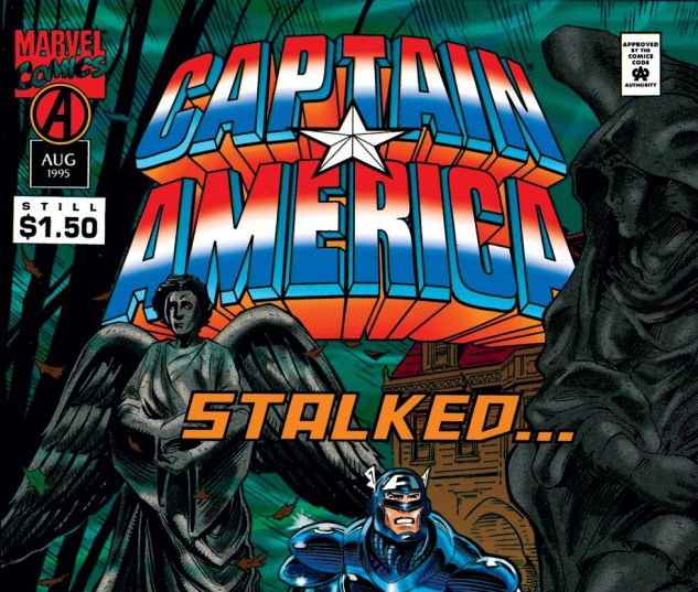 Captain America (1968) #442 Cover