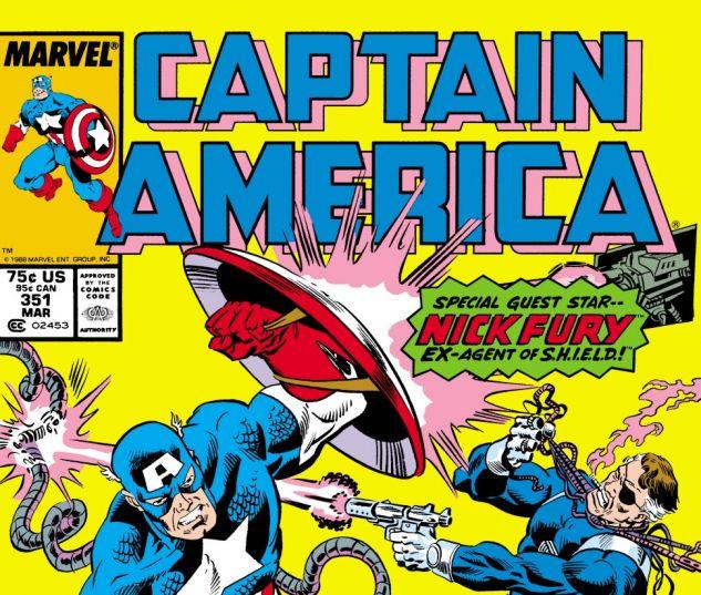 Captain America (1968) #351 Cover