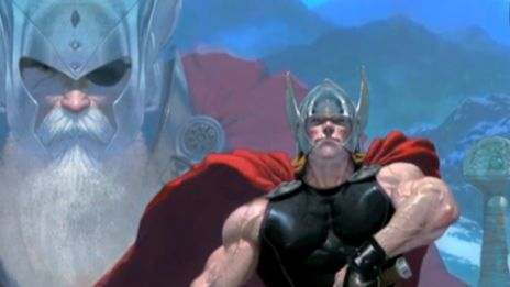 Marvel AR: Thor: God of Thunder #1 Cover Recap