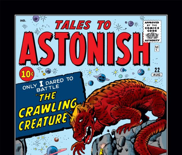 Tales to Astonish (1959) #22 Cover