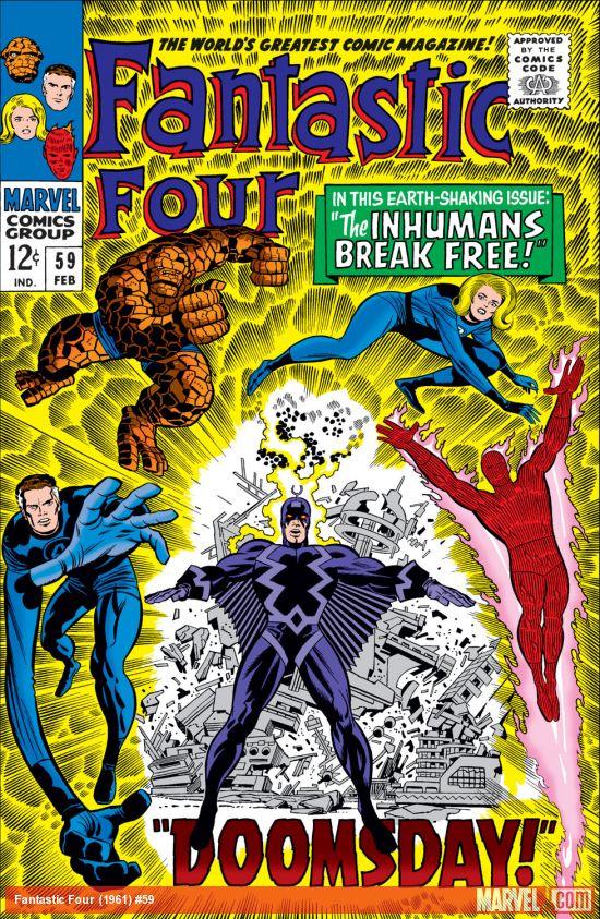 Fantastic Four (1961) #59
