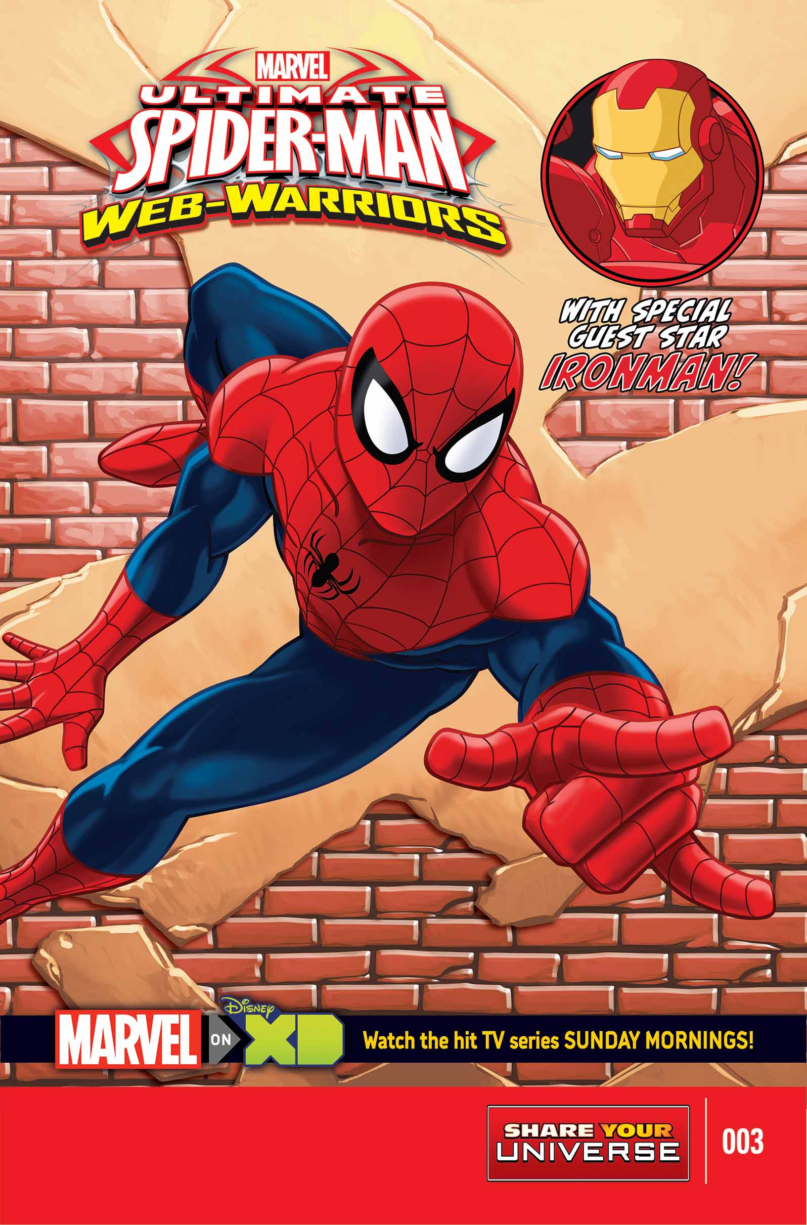 MARVEL UNIVERSE ULTIMATE SPIDER-MAN: WEB WARRIORS (2014) #3